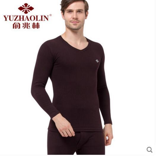 俞兆林 纯棉 男士纯棉内衣套装