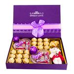 大牌【德芙-费列罗】巧克力礼盒装6颗 券后【13.9元】包邮(指定拍E款)
