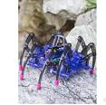 儿童科学实验玩具 拼装电动爬行蜘蛛机器人劵后9.8元包邮小编已收货!