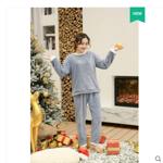 【懒人衣服】珊瑚绒揉棉暖暖裤套装券后59.9元包邮