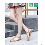 【奥康女鞋旗舰店】夏季新款T字带凉鞋券后109元包邮