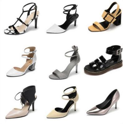 【達芙妮】春夏優雅時尚高低跟單鞋 券后34元包郵