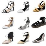 【达芙妮】春夏优雅时尚高低跟单鞋券后34元包邮