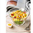 创意玻璃餐具家用沙拉碗透明料理碗劵后9.9元包邮