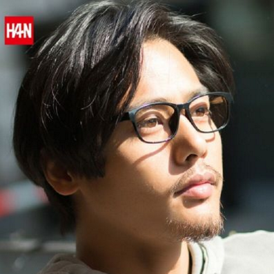 Han Dynasty 汉 HD49325 钛塑眼镜架+1.56防蓝光树脂镜片 39元(需用券)
